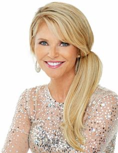 """Clip-In 12"""" Pony Hairpiece by Christie Brinkley"""