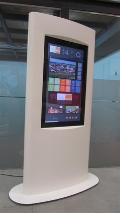 Round and around, and around !!!! ExRound outdoor kiosk by PARTTEAM & OEMKIOSKS. See more at www.oemkiosks.com
