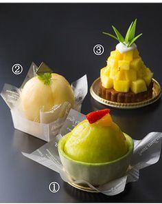夏の果実「メロン・桃・パイン」をひとりじめ! 新作・期間限定スイーツ 3種 大阪新阪急ホテルにて、販売中
