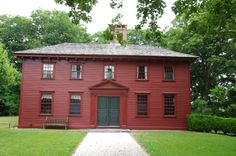 Whitehall Museum House (Middletown, RI): Palladian home of George Berkeley