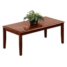 Amherst Coffee Table by Lesro. $221.10. Solid hardwood Construction, Including Solid Hardwood Table Top Five-Step Hand-Rubbed Finish
