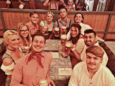 Luck seems to guide us through life- having a table for 10 at Oktoberfest is unheard of- but we got it 😉. #oktoberfest #table #friends #dancing #singing #drinking #eating #happy #people #enjoy #life #experiences #dirndl #lederhosen #münchen #munich #bayern #bavaria #deutschland #germany #europe #potd #travelgirl #travelgram