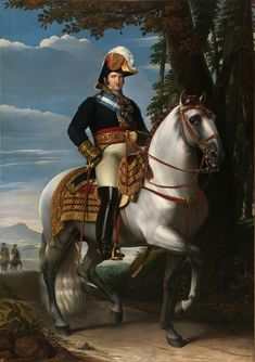 José de Madrazo y Agudo - Equestrian Portrait of Fernando VII - 1821 Ferdinand VII (Spanish: Fernando VII de Borbón; 14 October 1784 – 29 September was twice King of Spain: in 1808 and again from 1813 to his death. Ferdinand, Fernando Vii, Luis Xiv, Places In Florida, Confederate States Of America, Fernandina Beach, Indian Tribes, Spanish Artists, Portraits