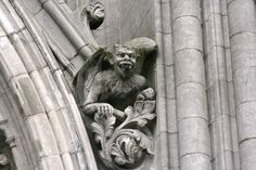 Gargoyles on Cobh Cathedral