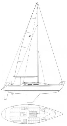 Sailboat and sailing yacht searchable database with more than sailboats from around the world including sailboat photos and drawings. About the sailboat Nautical Design, Sailboats, Line Art, Sailing, Around The Worlds, Ships, Paintings, Models, Drawing