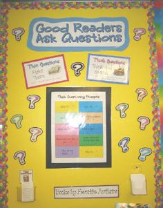 This has to be the best Reader's Workshop blogs I have EVER seen! Beth Newingham is absolutelly amazing! She has fantastic teacher resources and great ideas to implement into the classroom to help our kiddos be more successful readers and help them (& us) monitor what they are reading & understanding. Interactive Literacy Bulletin Boards