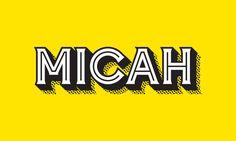 M I C A H on Behance