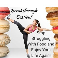 """Struggling with food? Start over for good without gimmicks! Free Breakthrough Session this week only! Register for a complimentary """"Starting Over For Good Without Gimmicks: Stop Struggling With Food and Enjoy Your Life Again"""" Breakthrough Session ($375 value)."""