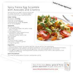 Egg White Fiesta Scramble
