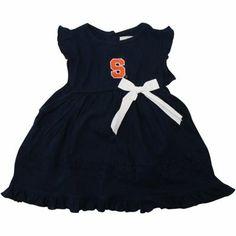 Syracuse Orange Toddler Harper Sundress - Navy Blue