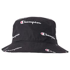 CHAMPION ALL OVER SCRIPT REVERSE WEAVE BUCKET HAT 3d72ef335e9