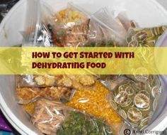 How to get started dehydrating food