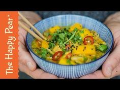 Mango Tempeh Noodle Curry Bowl | The Happy Pear