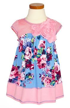 Pink Vanilla Floral Dress (Toddler Girls) available at #Nordstrom