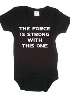 hahaha!!!  Yes, my children WILL be strong in the force!
