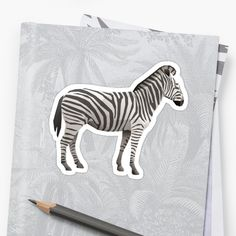 Bring out your wild side with our geometric Zebra print. Geometric Animal, Zebra Print, Stickers, Artwork, Animals, Work Of Art, Animales, Auguste Rodin Artwork, Animaux
