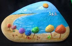 Easy Paint Rock - Hey friends! Looking for easy rock painting ideas? Perhaps you're simply beginning, you're daunted by even more intricate styles, try this, rock painting ideas, very inspiration for DIY or Decor - Rock Painting Ideas
