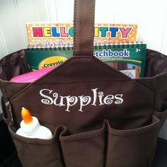 Item 5K  $30.00 The smaller Get a Grip bag.  A great gift idea for kids, moms, and teachers! www.myinitials-inc.com/miki
