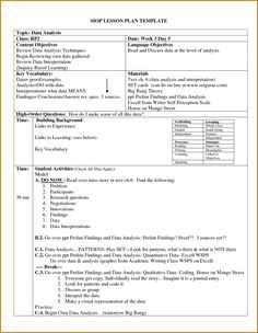 essential elements of instruction lesson plan template