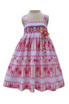 Pink daisy spring/summer dress