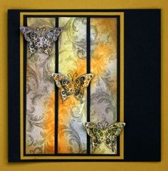 annekescardart: Yellow Butterfly...pan pastels