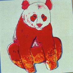 Andy Warhol, Giant Panda, for Endangered Species (F. and S. B.295), 1983