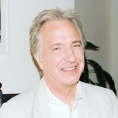 Mr. Rickman and his wonderful smile!