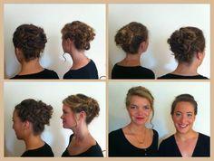 Braided Updo for wedding guest- Mathilde Wurtz