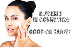 Glycerin is widely used in many skin care products. Because it is the best natural alcohol and helps to moisturize the skin. So it helps your skin look beau Natural Facial, In Cosmetics, Hair Conditioner, Anti Aging Skin Care, Face And Body, Lotion, Hair Care, Moisturizer, Pure Products