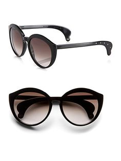 Bottega Veneta - Cats-Eye Acetate Sunglasses - Saks.com