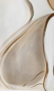 Nude & Umber, 2020 – Gabriella Le Blanc Art Paint Brushes, Nude, Oil, Paper, Butter