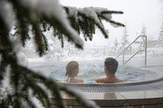 Beheizter XXL-Außenwhirlpool Hotel Alpenhof, Wellness Spa, Painting, Art, Ghosts, Nature, Art Background, Painting Art, Kunst