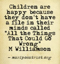 Children: sometimes more wise than grown adults