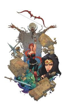 Red Hood and The Outlaws #8 by Kenneth Rocafort *