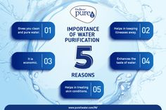 Water Purifier gives you clean water and also helps in keeping the illnesses away. Ro Water Purifier, Water Purification, Importance Of Water, Water Filter, Infographics, Filters, Conditioner, Cleaning, Pure Products