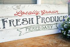 Would love to make this sign...great prop too! Jen Smucinski Rizzo   Klout