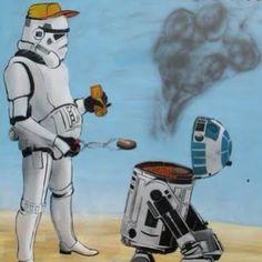 Star Wars BBQ (via starwarsgirls/Instagram)
