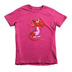 Draco Red Short sleeve kids t-shirt