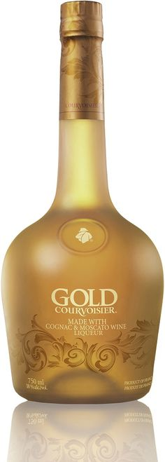 Courvoisier Gold Cognac Liqueur - Kind of a cool site, it reviews New alcohols on the market