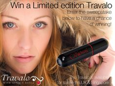 Enter the weekly sweepstake for a chance to win a Limited edition Travalo...