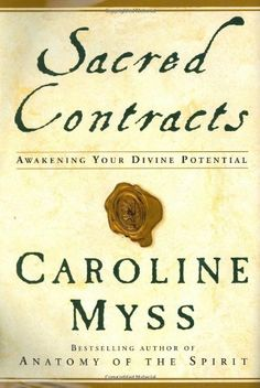 Sacred Contracts: Awakening Your Divine Potential by Caroline Myss http://www.amazon.com/dp/0517703920/ref=cm_sw_r_pi_dp_NTKFub1S5Q0WA