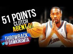 328123bd13a9 Gilbert Arenas UNREAL 51 Pts 2007.01.15 Wizards vs Jazz - 51 Pts 7 Threes