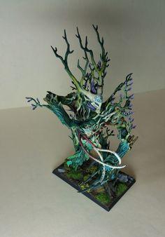 Warhammer Age of Sigmar Wood Elves / Sylvaneth Treeman Pro Painted | eBay