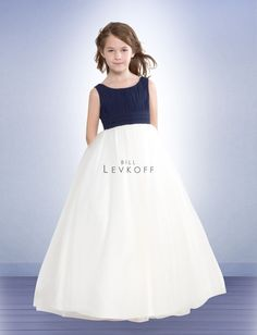 158989891c3 Flower Girl Dress Style 38001 Bill Levkoff Bridesmaid
