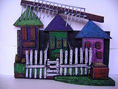 Room 9: Art!: Cityscape Sculptures