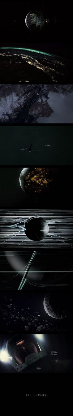 Time-lapse of the not too distant future : The Expanse – Opening Titles from Australian based BREEDER for Syfy's new show.