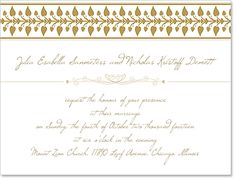 Free Wedding Invitation (Design Template)