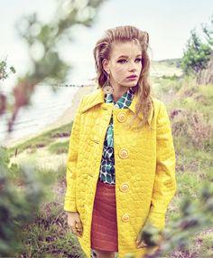 Holly May Saker by Tom Munro for Harper's Bazaar US October 2015