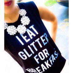 Glitter tee