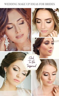 45 Wedding Make Up Ideas For Stylish Brides ❤ Weve created collection of wedding makeup. There are ideas for unique make up, elegant, make up that will be appropriate for different eyes colors. #weddings #weddingforward #bridalmakeup #makeupideas #weddingmakeup